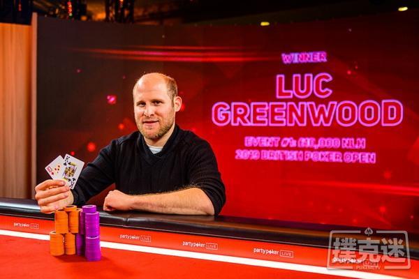 【美天棋牌】Luc Greenwood斩获英国扑克公开赛首冠